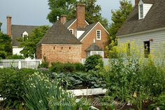 Kitchen garden, Colonial Williamsburg
