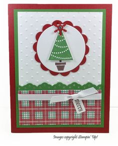 Cute Christmas Card by CardCreationsbyBeth (Etsy)