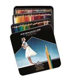 Prismacolor Premier Colored Pencils 132/Pkg-Prismacolor Premier Colored Pencils 132/Pkg-,