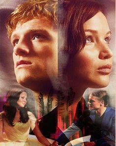 Peeta Mellark and Katniss Everdeen - Catching Fire