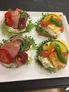 Tanskalaisia voileipiä by me 13.9.2016