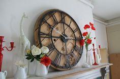 Horloge en palette - DIY