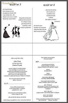 Zaproszenia ślubne - 2 propozycje!