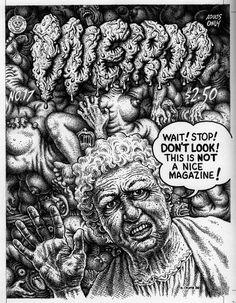 robert crumbweirdo #18, 1986