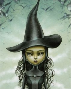"""""""Elphaba"""" by Mab Graves"""