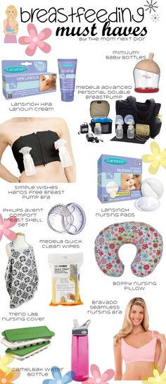 Best List I Could Find For Breastfeeding...Stuff You Actually Need