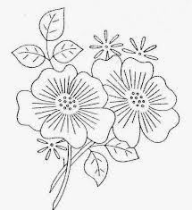 Resultado de imagen para bordados simples a maquina dibujos