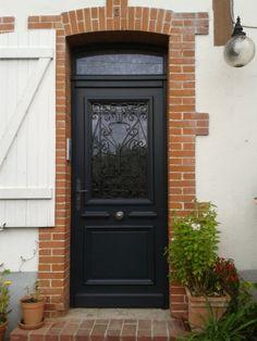 54 Best Ideas For Front Door Design Garage Front Door Porch, House Front Door, Patio Doors, Entry Doors, Old Barn Doors, Rustic Doors, French Door Curtains, French Doors, Painted Pantry Doors