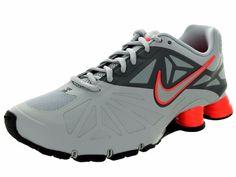 NIKE Shox Turbo 14 Mens Shoes Sz 10 631760-016 Wolf Grey/Wolf Grey