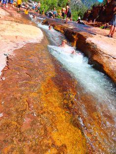 Slide Rock Park, Sedona AZ