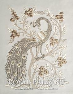 Hoop size 300х200 mm, 140x200 mm, 130x180 mm & 240x200 mm  Embroidery size 5.43x7.26, 9.37x13.07, 5x6.82 & 8.94x12.50  Formats: .dst, .jef, .pec,