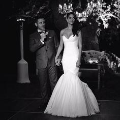 Denise Vasi weds director Anthony Mandler in Santa Ynez, CA