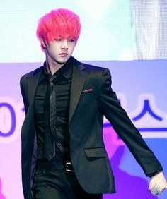 MBLAQ gives another possible hint at comeback: Thunder goes hot pink