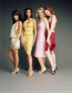 """""""Desperate Housewives"""" - (2004 - 2012) - Eva Longoria, Teri Hatcher, Felicity Huffman and Marcia Cross"""