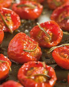 Er du vild med tomater, så prøv denne lækre opskrift på tørrede tomater.
