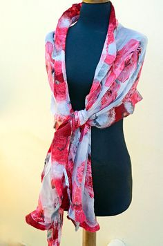 Hey, I found this really awesome Etsy listing at https://www.etsy.com/listing/194673521/red-roses-chiffon-silk-felted-shawl-red