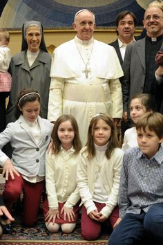 Pope Francis meets the Argentine community in Rome.