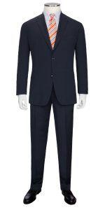 Übergröße: Boss, Fineliner-Systemanzug in Blau für Herren. Tall Clothing at PrettyLong.com Tall Men Fashion, Mens Fashion, Tall Clothing, Tall Guys, Suit Jacket, Breast, Suits, Jeans, Long Sleeve