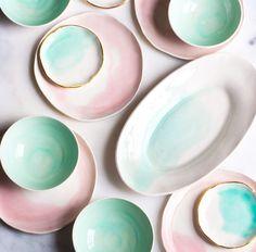 Just so beautiful!!!!  Colourful Ceramics Crush: Suite One Studio