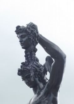 Statue of Perseus and Medusa at Trentham Gardens