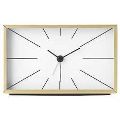 Never sleep in again! From beside alarm clocks to wall clocks that look great in every room, you can tell time in style with a clock from IKEA. Ikea Ps, Big Wall Clocks, Brimnes, Tv Accessories, Kitchen Clocks, Plastic Foil, Bronze, The Ringer, Cleanser