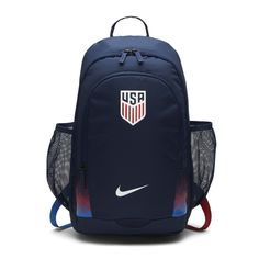 cae6f8aca783 Nike U. Navy And WhiteWomen s AccessoriesAthleticBackpacksUsaUnisexFree ...