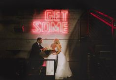 Get some - Auckland Wedding - Tyler St Garage Sheldon Amy, Black And White Style, Wedding Day, Auckland, Garage, Photography, Signs, Brown, Pi Day Wedding