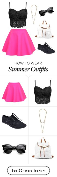 """""""cute summer outfit(:"""" by sassycaytlyn on Polyvore"""