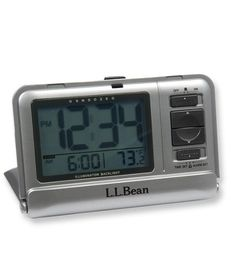 ll bean night finder iii travel alarm clock with led backlight with instructions llbean. Black Bedroom Furniture Sets. Home Design Ideas