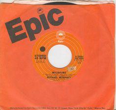 MICHAEL MURPHEY 45 rpm Wildfire b/w Night Thunder