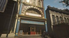 The Fontana Theatre : reddeadredemption Western Games, Political Discussion, World Of Darkness, Red Dead Redemption, Wild West, Big Ben, Westerns, Theatre, Building