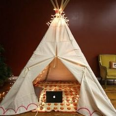 diy teepee w/ tutorial