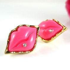 Earrings by Betsy Johnson