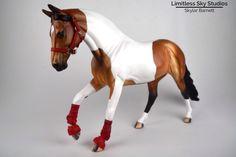 Breyer Peter Stone custom halter bridle saddle ten pieces Johnny West