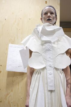 Backstage at the 2012 White Show   Fashion, Inside CSM, Projects   1 Granary