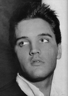 Candid, taken at Graceland, Memphis, TN - July 1960 Elvis Presley