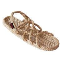 Sandalias de cuerda mexicanas, hechas a mano, flotan en el agua, resistentes al cloro y al agua salada, modelo mauricio las originales!