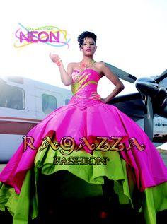 vestido Neon, Ragazza fashion