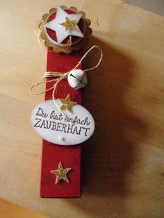 Kreativ am Deich : ....Schoki-Verpackung mit Sternen...