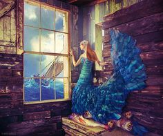Surreal Fashion Photography by Miss Aniela