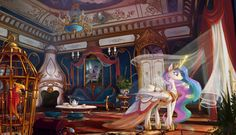 Ever since the Regal Sisters vanished, the Castle of Friendship has never stopped growing, its crystal roots piling onto one another over the centuries... Now it dominates all Equestria from its tr...