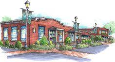Hendersonville Millworks - Johnston Design Group