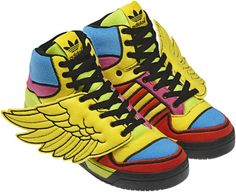new products f7236 884b0  Adidas by Jeremy Scott Autunno Inverno 2012 2013  sneakers Jeremy Scott  Wings,