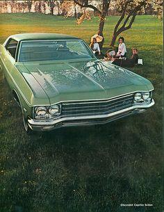 1970 Chevrolet Caprice 4 Door Hardtop