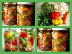 Smaczna Pyza: Pikle warzywne czyli zapasy na zimę