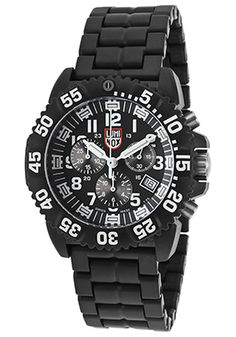 Luminox 3082 Watches,Men's Colormark Series 3080 Chrono Black Carbon Bracelet White Accents, Casual Luminox Quartz Watches.  I have over 100 watches but I wear this one most often.  It's one of my favorites.