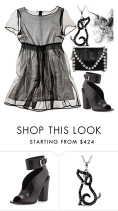 """Cora"" by ellary-branden ❤ liked on Polyvore featuring Alice + Olivia, Laurence Dacade, STELLA McCARTNEY, women's clothing, women, female, woman, misses and juniors"