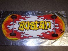 Skateboard Cakes – Decoration Ideas