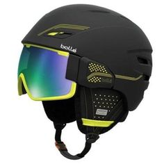 Bollé Osmoz, the first helmet with fully-integrated goggles. The season's latest, greatest ski and snowboard gear - Travel - The Boston Globe Snowboarding Gear, Ski And Snowboard, Ski Helmets, Snow Gear, Ski Goggles, Apres Ski, Helmet Design, Winter Gear, Snow Skiing