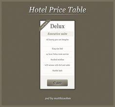 Hotel pricing table ideas #pricing #pricingtable #design via @lizardwijanarko www.ahlidesain.com